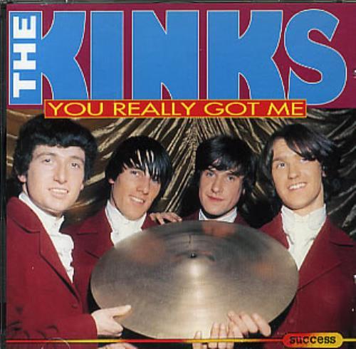 The Kinks You Really Got Me CD album (CDLP) UK KINCDYO297090