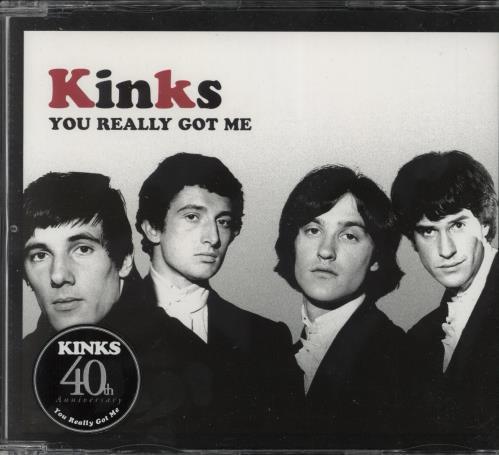 """The Kinks You Really Got Me CD single (CD5 / 5"""") UK KINC5YO300443"""