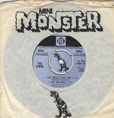 "The Kinks You Really Got Me 7"" vinyl single (7 inch record) UK KIN07YO325714"
