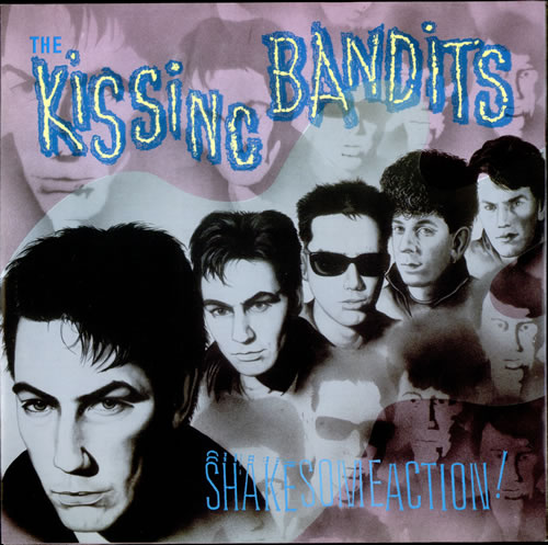 "The Kissing Bandits Shake Some Action! 12"" vinyl single (12 inch record / Maxi-single) UK UXM12SH524006"