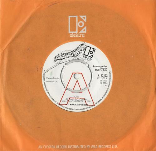 "The Knickerbockers Lies 7"" vinyl single (7 inch record) UK KKR07LI478021"