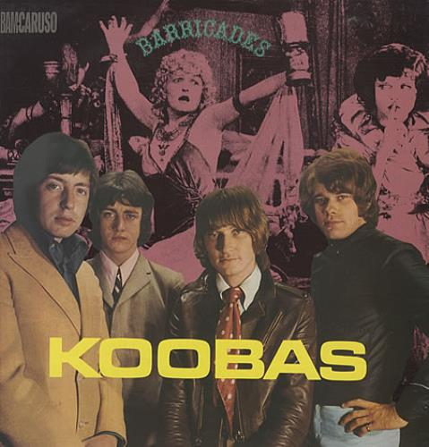 The Koobas Barricades vinyl LP album (LP record) UK OOBLPBA341621