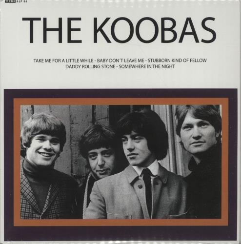 "The Koobas Live In Germany - RSD17 - Sealed 7"" vinyl single (7 inch record) UK OOB07LI671615"