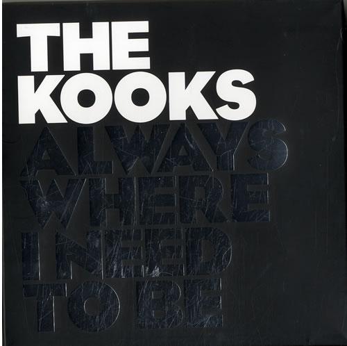 The Kooks Always Where I Need To Be - Boxset box set UK OKSBXAL625291
