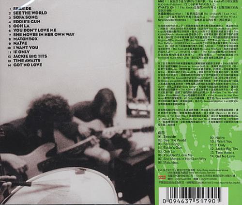 The Kooks Inside In / Inside Out CD album (CDLP) Taiwanese OKSCDIN393868