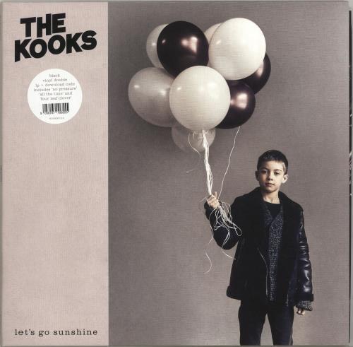 The Kooks Let's Go Sunshine 2-LP vinyl record set (Double Album) UK OKS2LLE704067