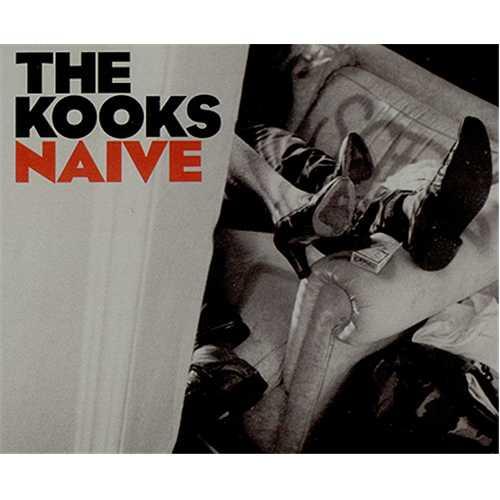 "The Kooks Naive CD single (CD5 / 5"") UK OKSC5NA387875"