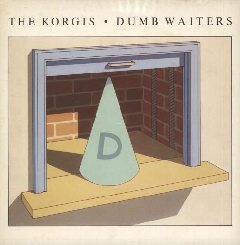 """The Korgis Dumb Waiters - P/S 7"""" vinyl single (7 inch record) UK KGI07DU732957"""