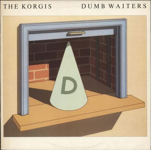 The Korgis Dumb Waiters vinyl LP album (LP record) UK KGILPDU707540