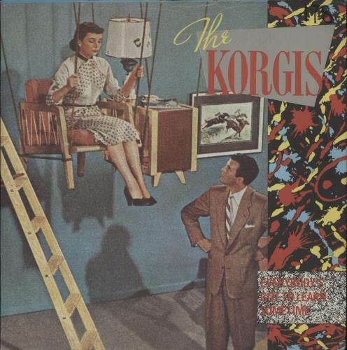 "The Korgis Everybody's Got To Learn Sometime + p/s 7"" vinyl single (7 inch record) UK KGI07EV287988"