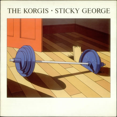 The Korgis Sticky George vinyl LP album (LP record) UK KGILPST538766