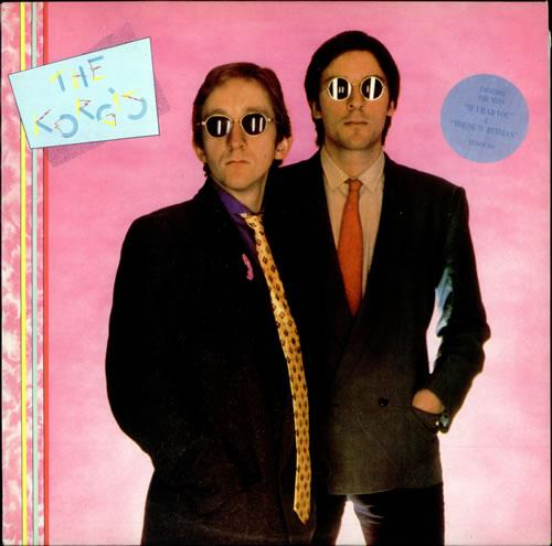 The Korgis The Korgis - Stickered Sleeve vinyl LP album (LP record) UK KGILPTH417126