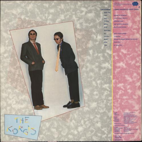 The Korgis The Korgis vinyl LP album (LP record) UK KGILPTH707539