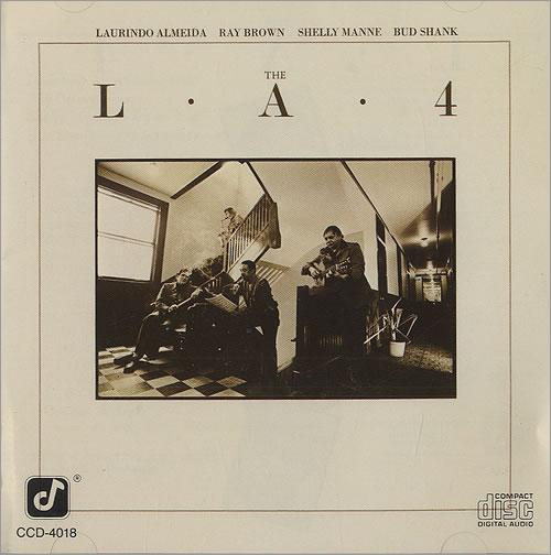 The L.A. Four The L.A.4 CD album (CDLP) Japanese LQ4CDTH490498