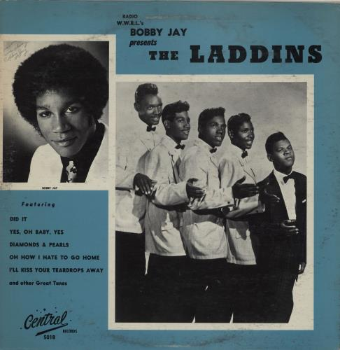 The Laddins Radio WWRL's Bobby Jay Presents The Laddins vinyl LP album (LP record) US 2IRLPRA756618