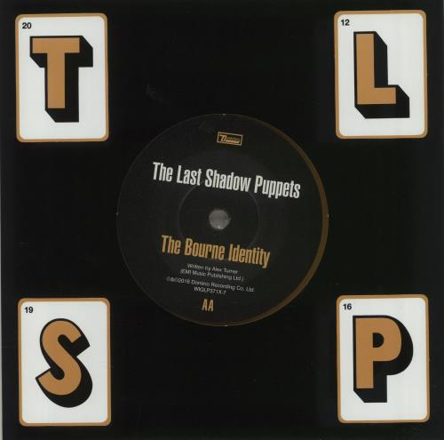 The Last Shadow Puppets Bad Habits Yellow Vinyl Uk 7