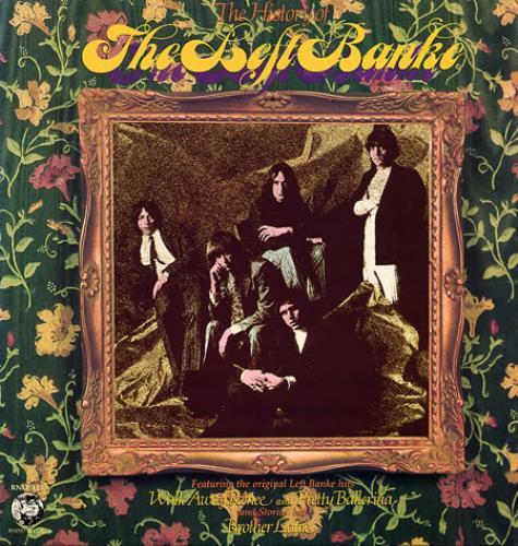 The Left Banke The History Of The Left Banke vinyl LP album (LP record) US LEFLPTH341690