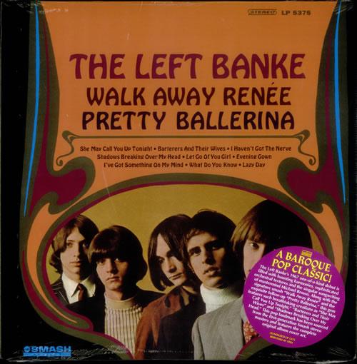 The Left Banke Walk Away Renée / Pretty Ballerina - Sealed vinyl LP album (LP record) US LEFLPWA540719