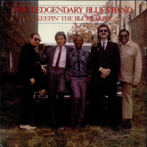 The Legendary Blues Band Keepin' The Blues Alive vinyl LP album (LP record) US L8BLPKE546251