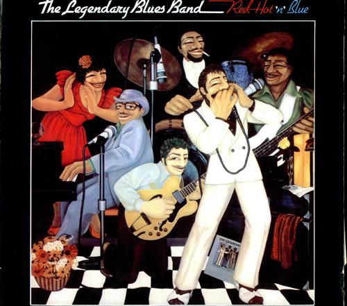 The Legendary Blues Band Red Hot 'n' Blue vinyl LP album (LP record) Portugese L8BLPRE498197