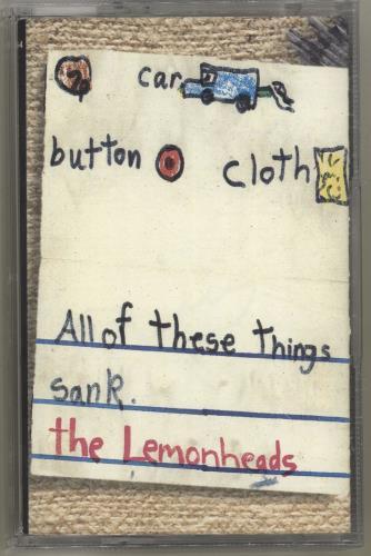The Lemonheads Car Button Cloth cassette album UK LEMCLCA704309