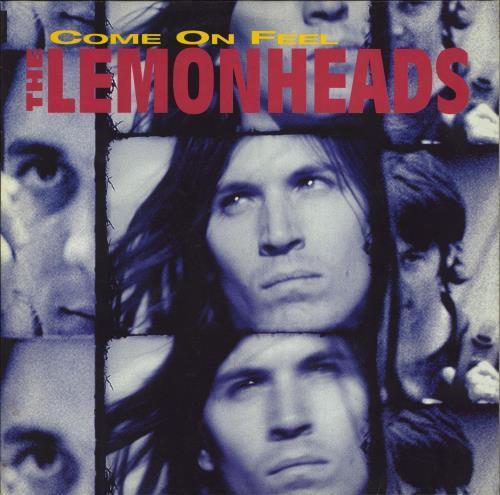 The Lemonheads Come On Feel The Lemonheads - EX vinyl LP album (LP record) UK LEMLPCO771167