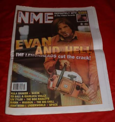 The Lemonheads NME magazine UK LEMMANM302377