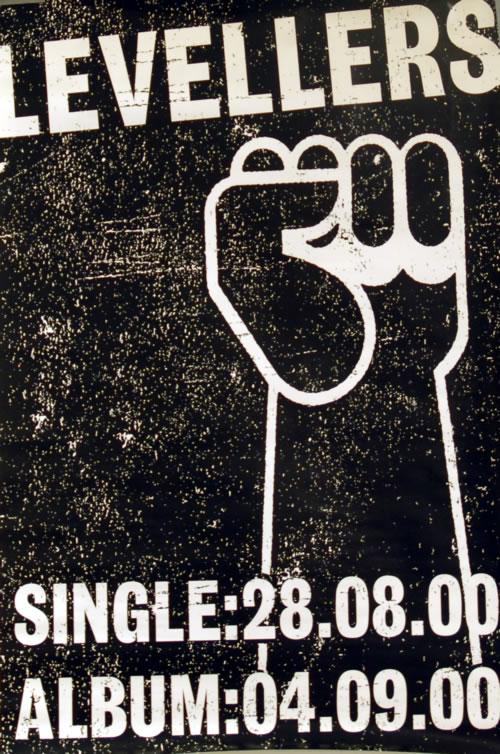 The Levellers Happy Birthday Revolution poster UK LVLPOHA610045