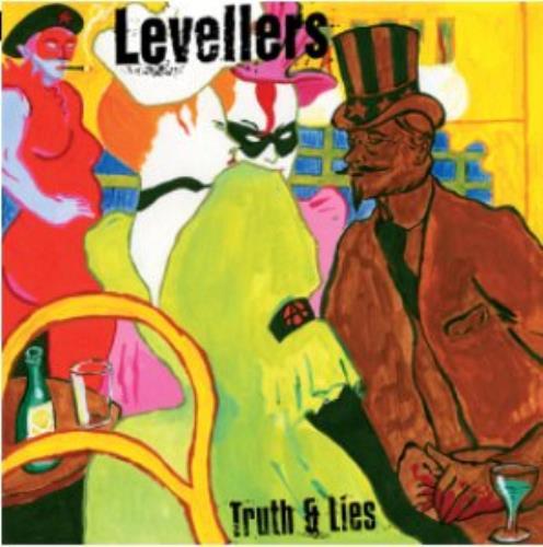 The Levellers Truth & Lies CD album (CDLP) UK LVLCDTR324083
