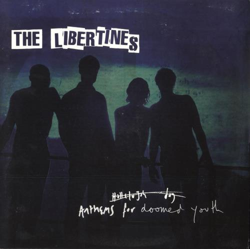 The Libertines Anthems For Doomed Youth - EX vinyl LP album (LP record) UK TLBLPAN739404