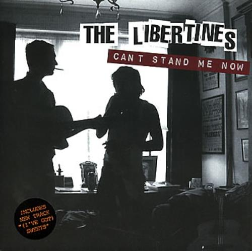 "The Libertines Can't Stand Me Now 7"" vinyl single (7 inch record) UK TLB07CA298390"