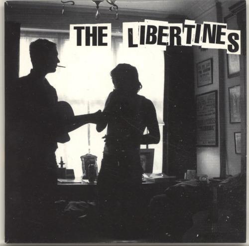 The Libertines The Libertines CD + PR CD album (CDLP) UK TLBCDTH697555