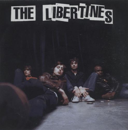 The Libertines The Libertines CD-R acetate UK TLBCRTH663470