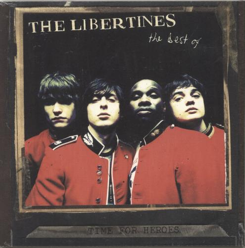 The Libertines Time For Heroes: The Best Of The Libertines - Red Vinyl + Sealed vinyl LP album (LP record) UK TLBLPTI700101