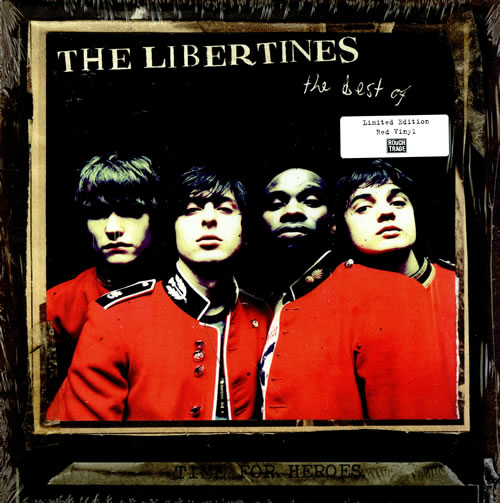 The Libertines Time For Heroes: The Best Of The Libertines - Red Vinyl vinyl LP album (LP record) US TLBLPTI457490