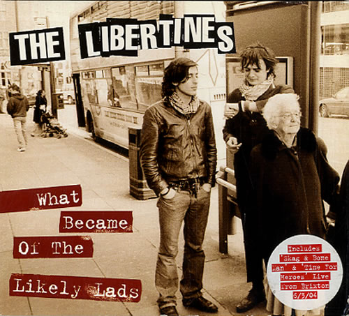 """The Libertines What Became Of The Likely Lads - CD2 CD single (CD5 / 5"""") UK TLBC5WH619703"""