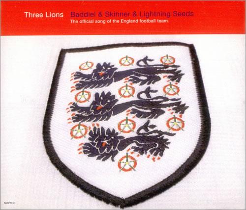 "The Lightning Seeds Three Lions CD single (CD5 / 5"") UK SEEC5TH510753"