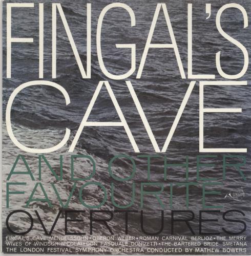 The London Symphony Orchestra Fingal's Cave And Other Favorite Overtures vinyl LP album (LP record) UK LQOLPFI745208
