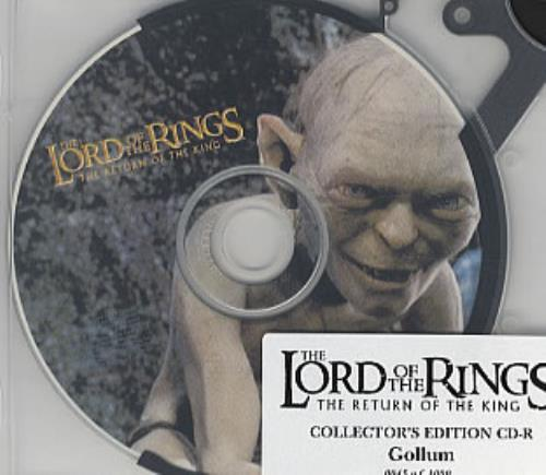 The Lord Of The Rings Gollum CD-R CD-ROM US TLRROGO314952