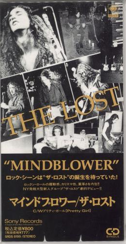 "The Lost Mindblower - Promo Stickered 3"" CD single (CD3) Japanese XV5C3MI720332"