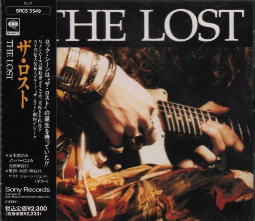 The Lost The Lost CD album (CDLP) Japanese XV5CDTH647981