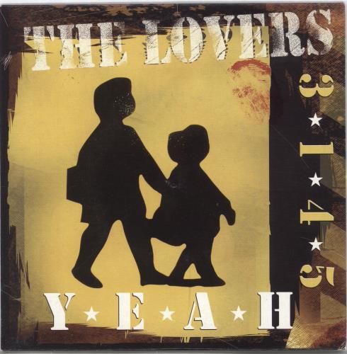 "The Lovers [Indie] Yeah - Yellow 7"" vinyl single (7 inch record) UK ZMH07YE717412"
