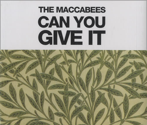 "The Maccabees Can You Give It CD single (CD5 / 5"") UK EE5C5CA474869"