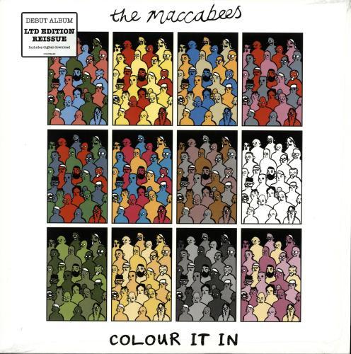 The Maccabees Colour It In - 2015 issue vinyl LP album (LP record) UK EE5LPCO703802