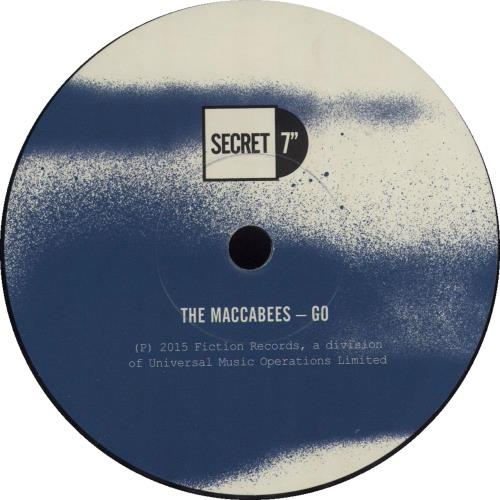 "The Maccabees Go - Secret 7"" - #058 7"" vinyl single (7 inch record) UK EE507GO683807"