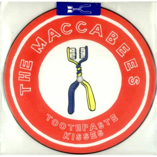 The Maccabees Toothpaste Kisses Uk 7 Quot Vinyl Picture Disc 7