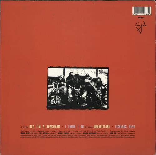 "The Machine Gun Feedback Hey, I'm A Spaceman 12"" vinyl single (12 inch record / Maxi-single) UK SZV12HE709668"