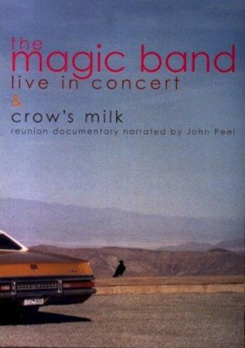 The Magic Band Crows Milk Live In Concert DVD UK MB.DDCR371650