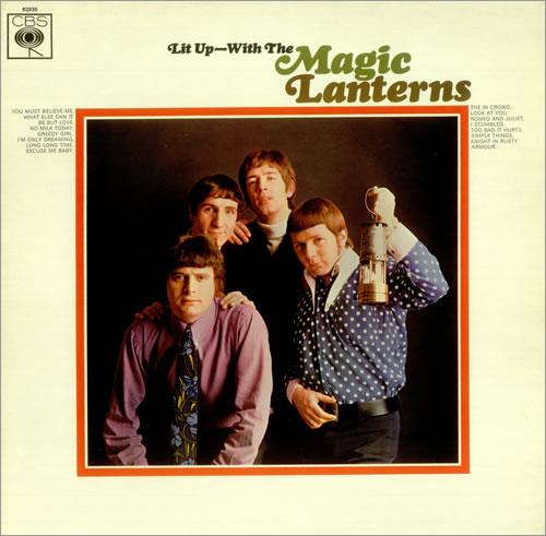 The Magic Lanterns Lit Up - With The Magic Lanterns vinyl LP album (LP record) UK AGMLPLI452591