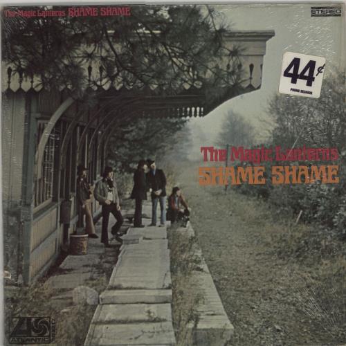 The Magic Lanterns Shame Shame - Shrink vinyl LP album (LP record) US AGMLPSH663894